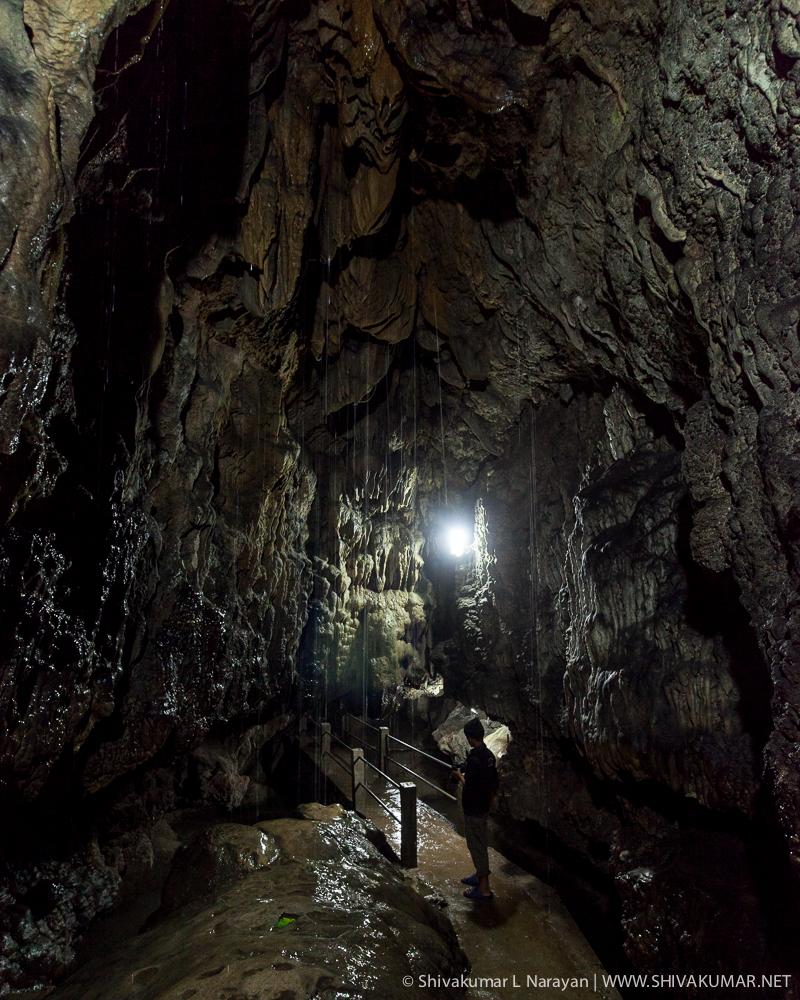 Inside Mausmi Cave, Cheerapunji, Meghalaya