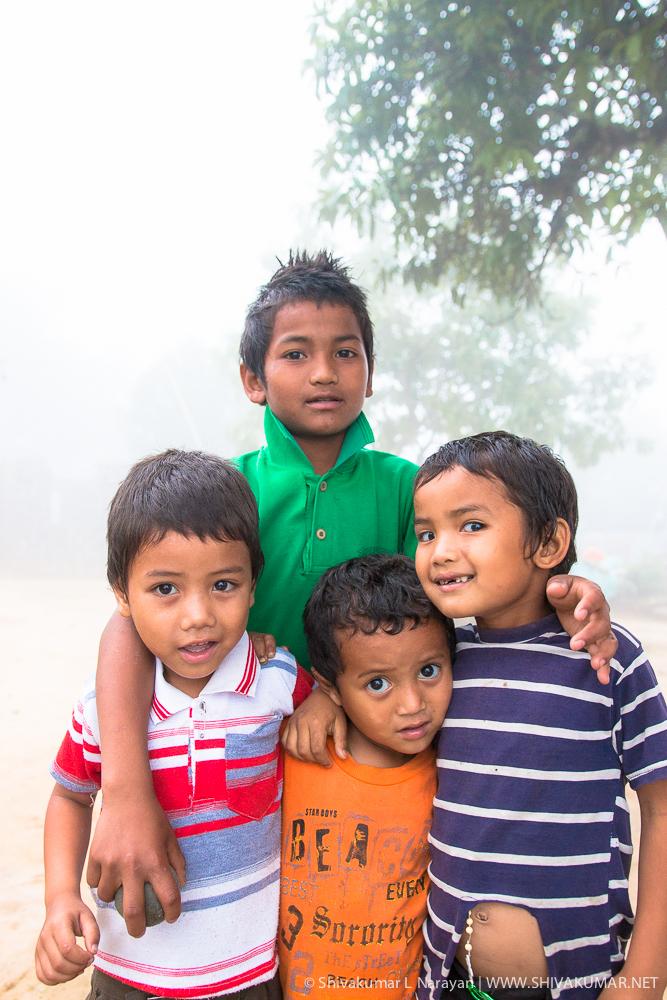 Kids from Cheerapunji, Meghalaya