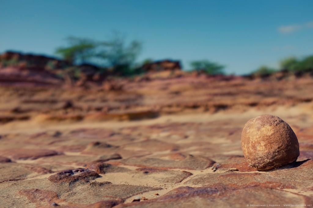 Lonely Stone, Kutch, Gujrat