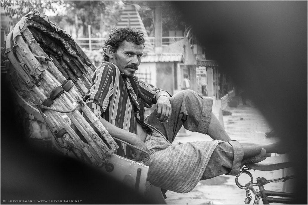 Cycle rickshaw @ Siliguri - West Bengal