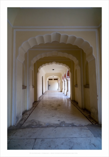 jaipurcitypalace tunnel