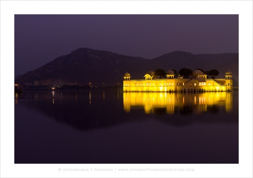jalmahal jaipur evening light