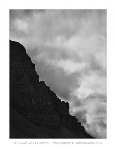landscape spiti ridgesagainstsky